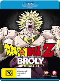 Dragon Ball Z: broly Movie Collection on Blu-ray