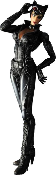 Batman: Arkham City - Catwoman Play Arts Kai Figure