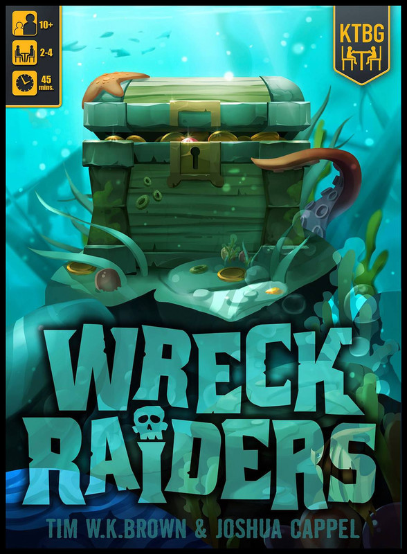 Wreck Raiders - Board Game