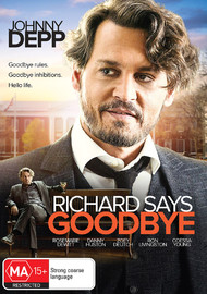 Richard Says Goodbye on DVD image