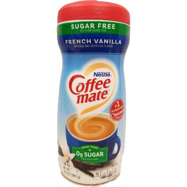 Nestle Coffee-Mate Sugar Free French Vanilla Powder
