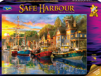 Holdson: 1000 Piece Puzzle - Safe Harbour (Lights on the Harbour)