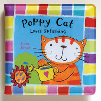 Poppy Cat Bath Books: Poppy Cat Loves Splashing image