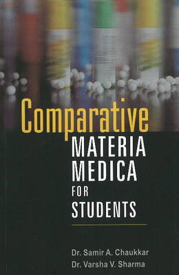 Comparative Materia Medica for Students by Samir A. Chaukkar image