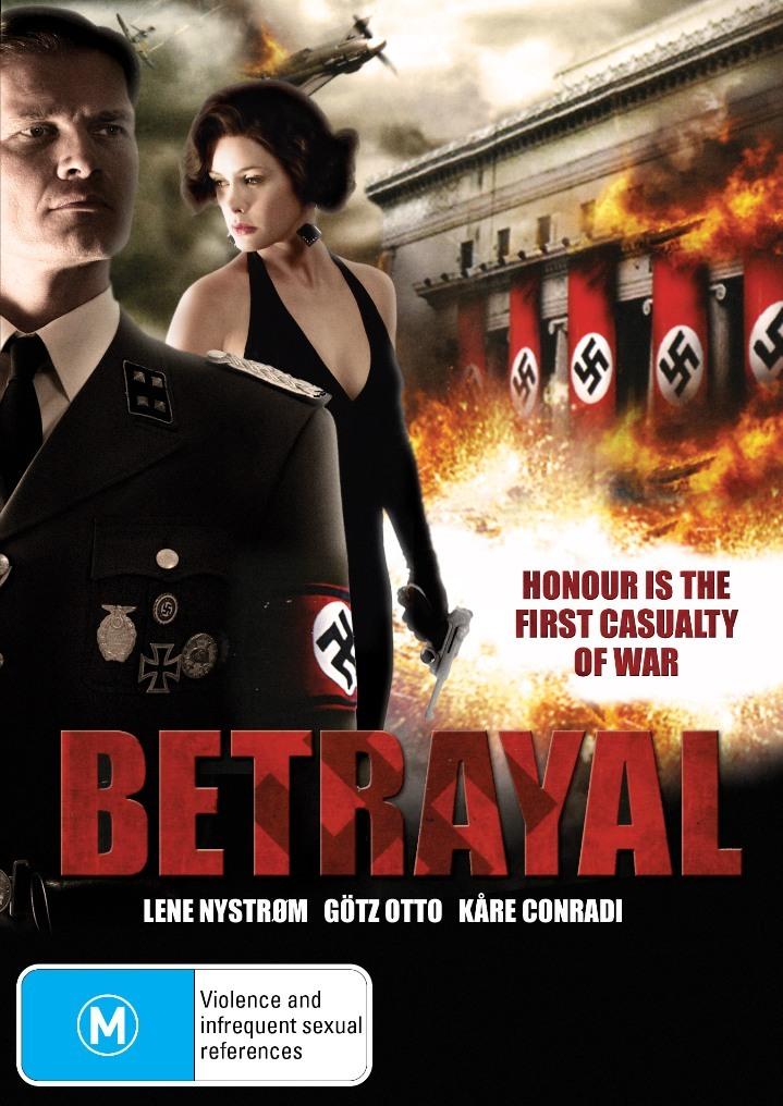 Betrayal on DVD image