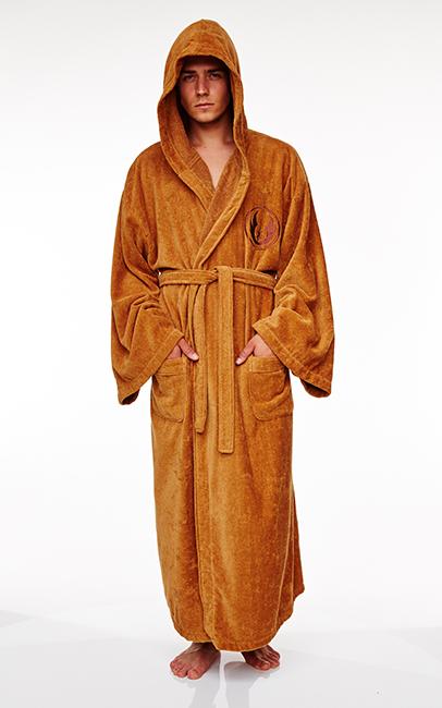 Star Wars Jedi Deluxe Hooded Dressing Gown image ... f840de454