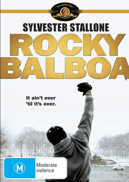 Rocky Balboa on DVD image