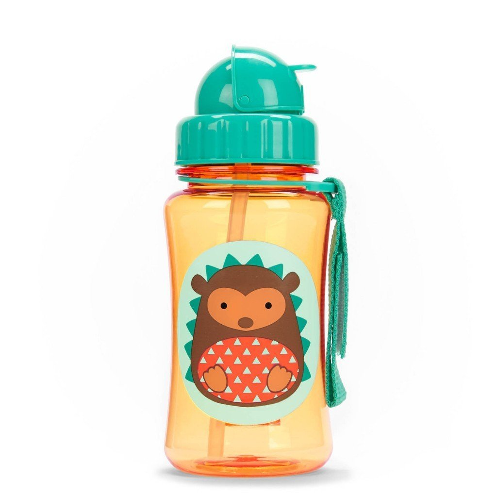 Skip Hop: Zoo Straw Bottle - Hedgehog image