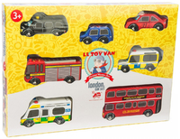 Le Toy Van: London Car Set
