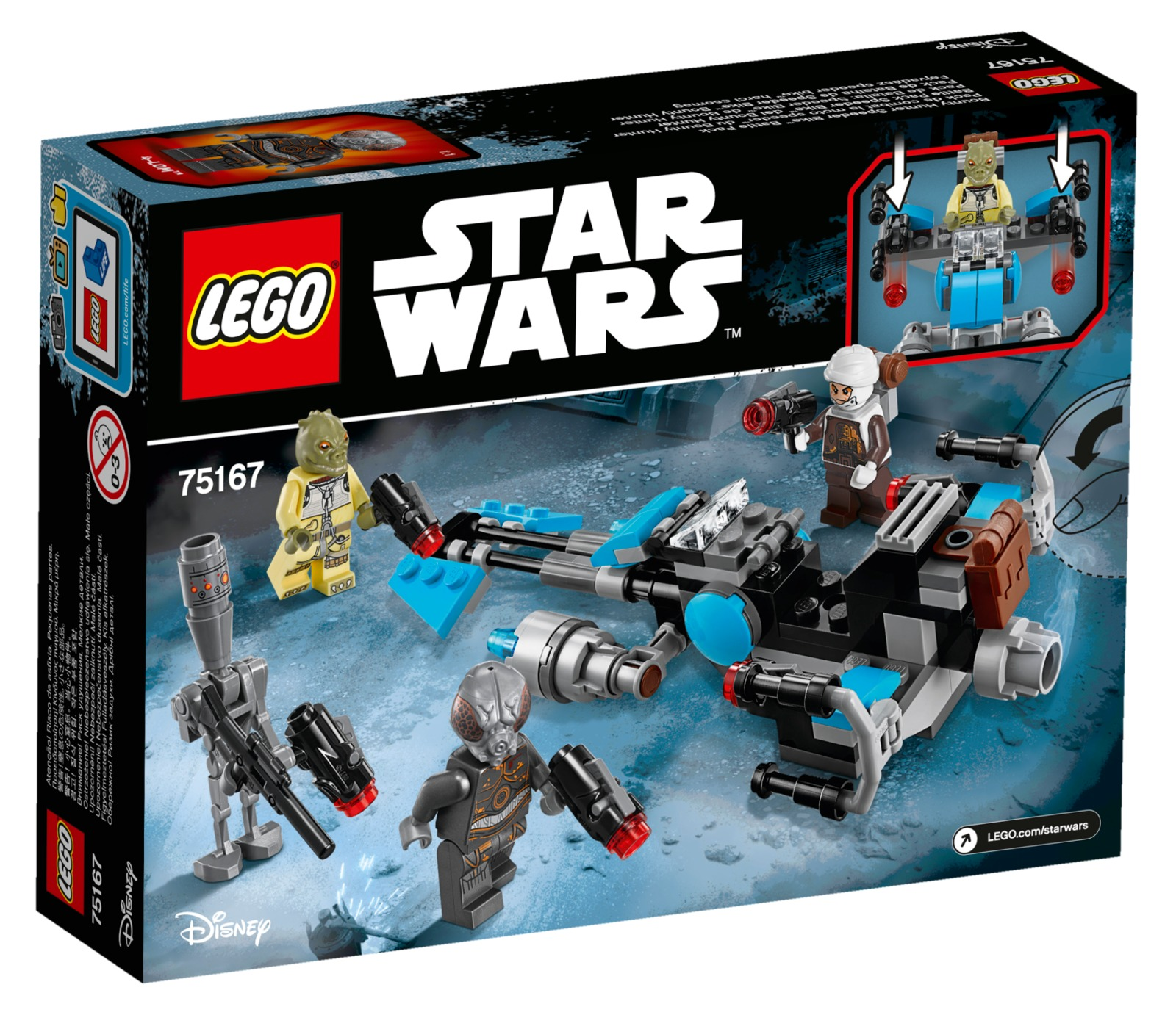 LEGO Star Wars - Bounty Hunter Speeder Bike Battle Pack (75167) image
