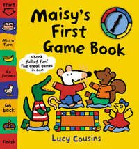 Maisy's First Game Book by Lucy Cousins image