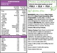 Balance Physique Protein Powder - Chocolate (500g)