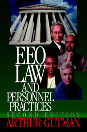EEO Law and Personnel Practices by Arthur Gutman image