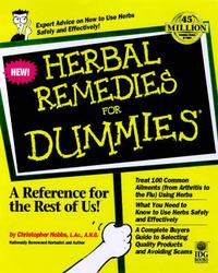 Herbal Remedies For Dummies by Christopher Hobbs