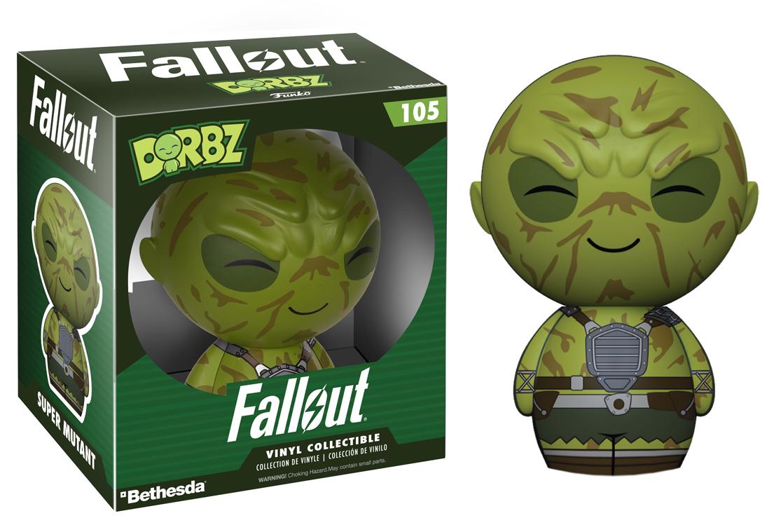 Fallout - Super Mutant Dorbz Vinyl Figure image