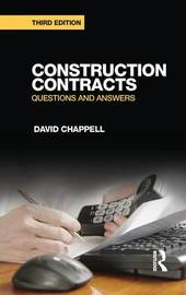 Construction Contracts by David Chappell