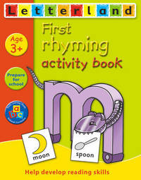 First Rhyming Activity Book by Lyn Wendon image