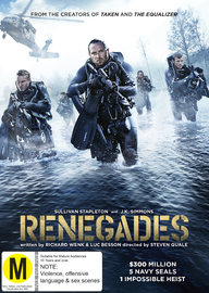 Renegades on DVD