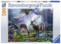 Ravensburger: 500 Piece Puzzle - Deer in the Wild