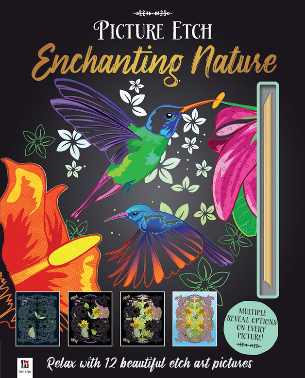Hinkler: Picture Etch - Enchanting Nature