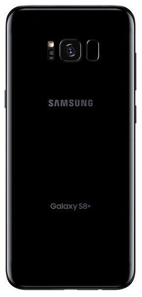 Samsung Galaxy S8+ (64GB/4GB RAM) - Midnight Black [Genuine Refurbished] image