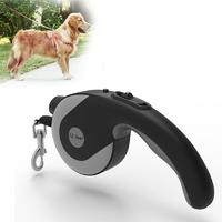 Retractable Lightweight LED Pet Leash - Medium/Large Dogs (Black)