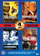 Action Collection 2 - Vol 1 - 4 Movies (2 Disc Set) on DVD
