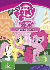 My Little Pony: Friendship is Magic: Season 2 - Volume 2: Parties & Pets on DVD