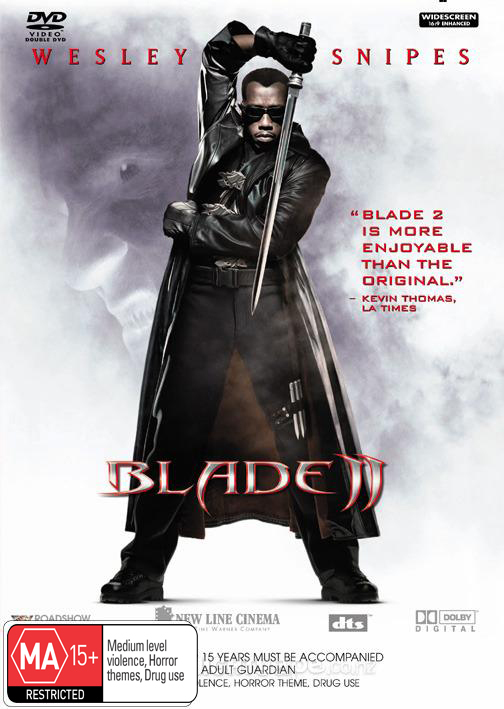 Blade 2 on DVD image