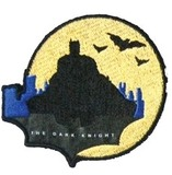 Batman: The Dark Knight (Yellow) - Iron-On Patch