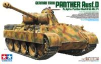 Tamiya: 1/35 Panther Ausf.D - Model Kit