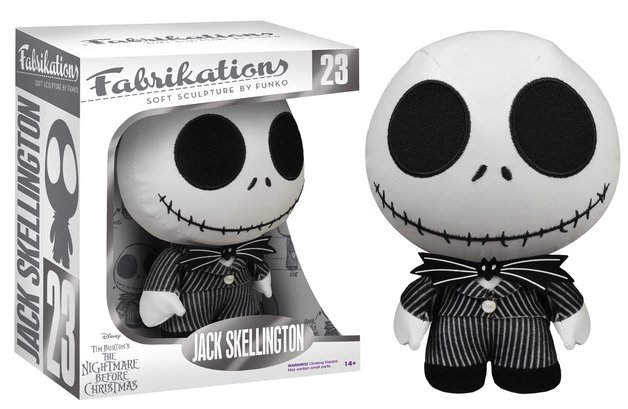 NBX - Jack Skellington Fabrikations Plush
