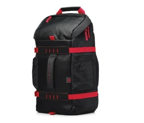 "HP 15.6"" Odyssey - Laptop Backpack (Black/Red)"