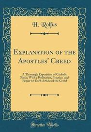 Explanation of the Apostles' Creed by H Rolfus image