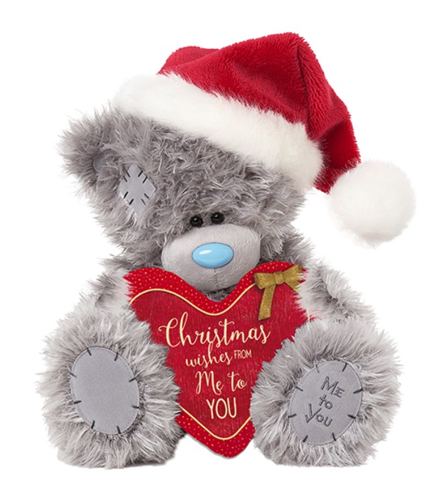 Christmas Wishes Bear.Tatty Teddy Bear Christmas Wishes Toy At Mighty Ape Nz