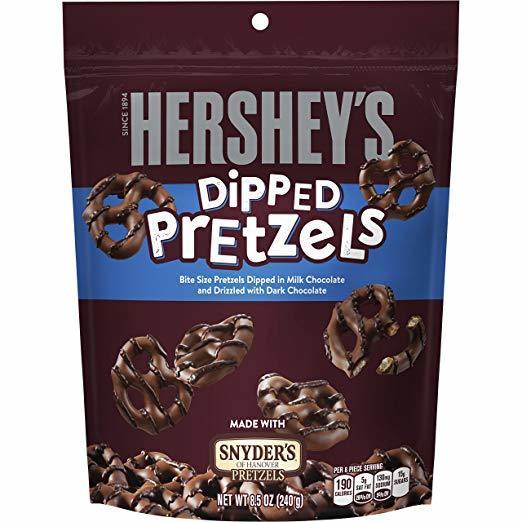 Hershey's Milk Chocolate Dipped Pretzels (240g) image