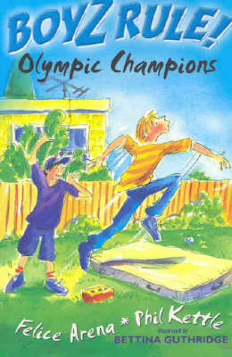 Boyz Rule 22: Olympic Champions by Felice Arena image