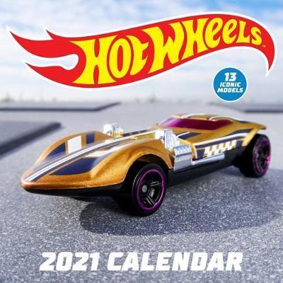 Hot Wheels 2021 Wall Calendar by Mattel