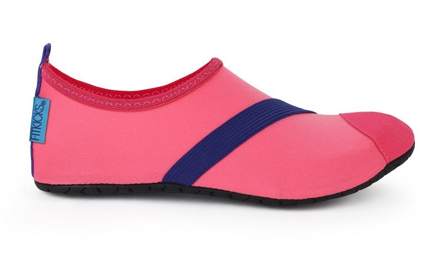 Fitkicks: Foldable Active Footwear - Coral (XL) image