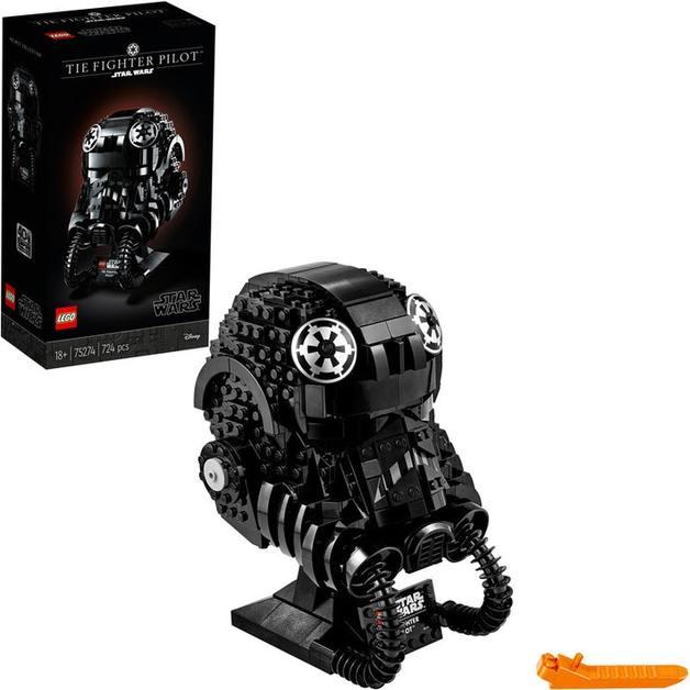 LEGO Star Wars: TIE Fighter Pilot Helmet (75274)