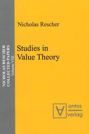 Studies in Value Theory by Nicholas Rescher image