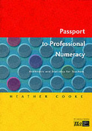 Passport to Professional Numeracy by Heather Cooke image
