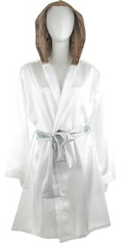Star Wars: Princess Leia - Hooded Satin Bathrobe