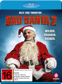 Bad Santa 2 on Blu-ray