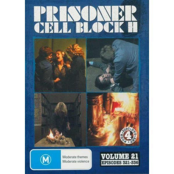 Prisoner - Cell Block H: Vol. 21 - Episodes 321-336 (4 Disc Set) on DVD