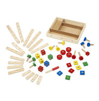 Melissa & Doug: Construction Building Set in a Box