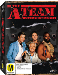 A Team Complete Collection on DVD image