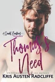 Thomas's Need by Kris Austen Radcliffe image