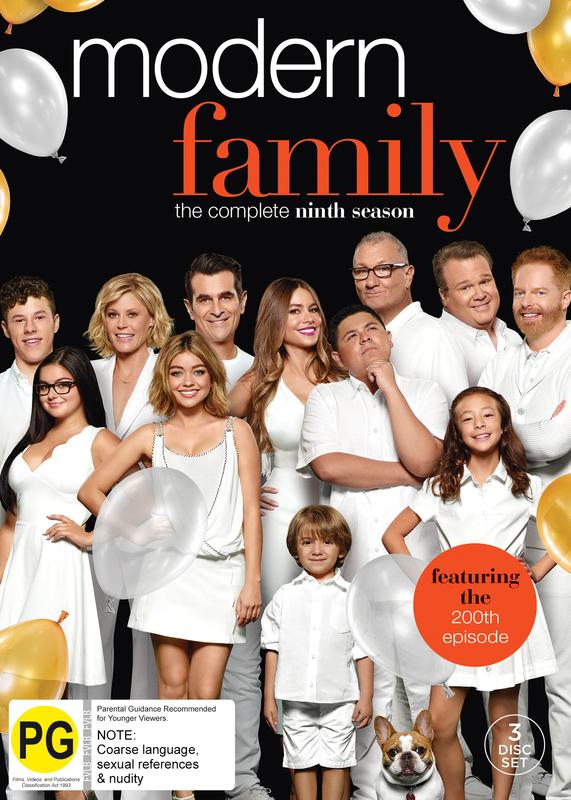 Modern Family: Season 9 on DVD