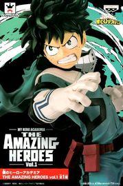 My Hero Academia: The Amazing Heroes Vol.1: Izuku Midoriya - PVC Figure